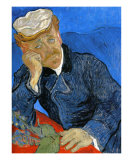 Dr. Paul Gachet, c.1890 Posters by Vincent van Gogh