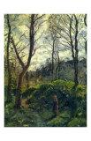 Landscape with Big Trees Affiches par Camille Pissarro
