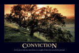 Conviction Affiches par Larry McManus