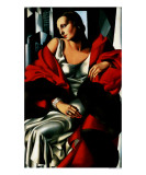 Portrait of Madame Boucard, c.1931 Prints by Tamara de Lempicka