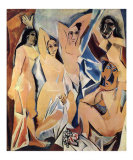 Die Jungfern aus Avignon Poster von Pablo Picasso
