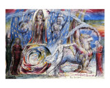 Beatric Addresses Dante Posters by William Blake