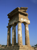 Temple of Castor &amp; Pollux, Agrigento, Italy Photographic Print by Richard Ashworth