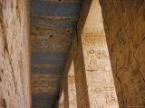Medinet Habu, Thebes, Unesco World Heritage Site, Egypt, North Africa, Africa Photographic Print by Richard Ashworth