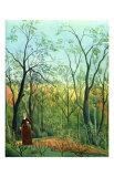 The Border of a Forest, c.1886 Affiche par Henri Rousseau