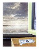 La Fissure, c.1949 Art by Rene Magritte