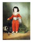 Don Manuel Osorio de Zuniga Art by Francisco de Goya