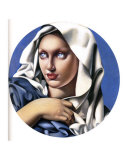 Madonna Print by Tamara de Lempicka