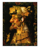 Autumn, c.1573 Poster von Giuseppe Arcimboldo