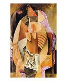 La Femme en Chemise Kunstdrucke von Pablo Picasso