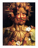 Fr&#252;hling Poster von Giuseppe Arcimboldo