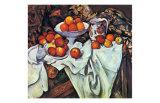 Pommes et Oranges Art by Paul Cézanne