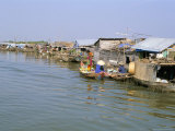Floating Village of Chong Kneas, Lake Tonle Sap, Near Siem Reap, Cambodia Photographic Print by Richard Ashworth