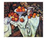 Pommes et Oranges Posters by Paul Cézanne