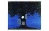 La Voix du Sang Poster par Rene Magritte