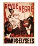 La Revue Negre, c.1925 Kunstdruck von Paul Colin
