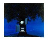 La Voix du Sang Affiche par Rene Magritte