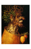 Summer, c.1563 Print by Giuseppe Arcimboldo