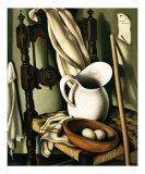 Still Life with Eggs, c.1941 Print by Tamara de Lempicka