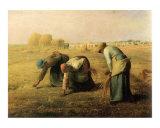 Les Glaneuses, c.1890 Posters by Jean-François Millet
