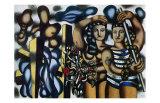 Adam and Eve, c.1935 Plakater af Fernand Leger