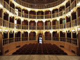 Teatro Torti, Within the Gothic Shell of Former Palazzo Dei Consoli, Umbria Photographic Print by Richard Ashworth