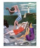 The Bathers, c.1918 Kunstdrucke von Pablo Picasso
