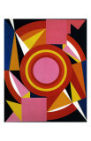 Diable, c.1958 Prints by Auguste Herbin