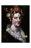 Flower Poster von Giuseppe Arcimboldo