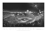 Wrigley Field-Stadium Kunstdruck von Scott Mutter