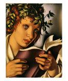 Graziela Print by Tamara de Lempicka