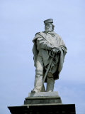 Statue Erected 1890 of Giuseppe Garibaldi, Piazza Garibaldi, Todi, Umbria, Italy Photographic Print by Richard Ashworth