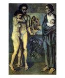 La Vie Poster by Pablo Picasso
