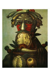 Winter Prints by Giuseppe Arcimboldo
