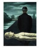Les Reveries du Promeneur Solitaire, c.1926 Posters by Rene Magritte