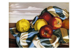 Still Life with Apples and Lemons Kunstdrucke von Tamara de Lempicka