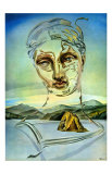 The Birth of a God Posters par Salvador Dalí