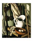 Still Life with Eggs, c.1941 Print by Tamara de Lempicka