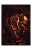 St Joseph Charpentier Posters by Georges de La Tour