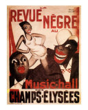La Revue Negre, c.1925 Prints by Paul Colin