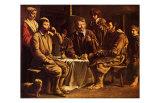Repas de Paysans, c.1642 Art by Louis Le Nain