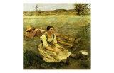 Lepage, Les Foins, c.1885 Print by Jules Bastien-Lepage
