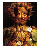 Spring Posters by Giuseppe Arcimboldo