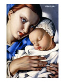 Mother and Child Prints by Tamara de Lempicka
