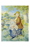 Mother and Child Posters by Pierre-Auguste Renoir