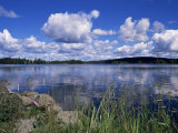 Summer, Lake at Ramen, North of Filipstad, Eastern Varmland, Sweden, Scandinavia Photographic Print by Richard Ashworth