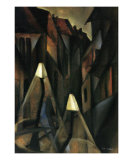 Street at Night Art by Tamara de Lempicka