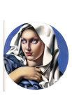 Madonna Prints by Tamara de Lempicka