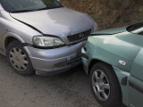 Car Crash, Spain Photographic Print by Charles Bowman