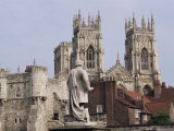 York Minster, York, Yorkshire, England, United Kingdom Photographic Print by Charles Bowman